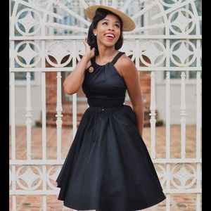 Pinup Couture Harley Dress Black XL NWT Sundress